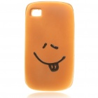 Emulational Bread Style Protective Case for Iphone 4 - Naughty Expression