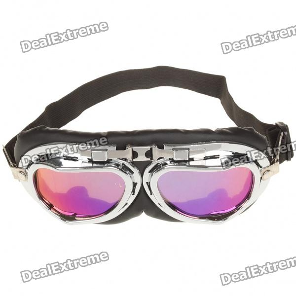 Sports Cycling UV Protection Non-Glare PVC Goggles