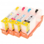 Replacement Refillable Ink Cartridges for HP DJ6500/OJ6500Aplus/OJ6500A-CL/7500A Wide Format