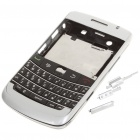 Replacement PC Housing Case w/ Keyboard for BlackBerry 9700 - Silver