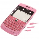 Replacement PC Housing Case w/ Keyboard for BlackBerry 9700 - Pink
