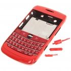 Replacement PC Housing Case w/ Keyboard for BlackBerry 9700 - Bright Red