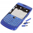 Replacement PC Housing Case w/ Keyboard for BlackBerry 9700 - Blue