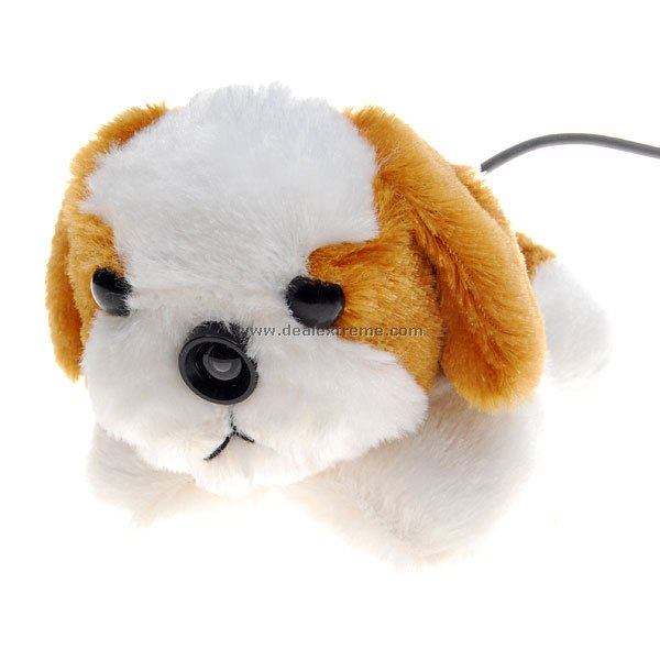 Cute Puppy USB Webcam 350K-Pixel