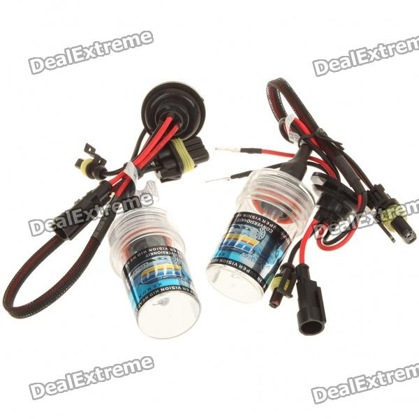 H11 35W 6000K 3200-Lumen White Light HID Headlamps Set (DC 9~16V/Pair)