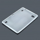Protective Silicone Back Case for Acer A500 - Translucent White