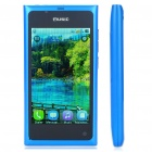 "L9 3.6"" Touch Screen Dual SIM Dual Network Standby Quadband Bar Phone w/ Java + WiFi + TV - Blue"
