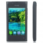 "N9 3,6 ""Touchscreen Dual Sim Dual Network Standby Quadband Bar Telefon w / Java + WiFi + TV - Schwarz"