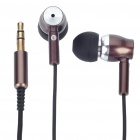 Trendy JBM800 Mini In-ear Cushion Style Stereo Earphone without Microphone - Black