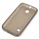 PC Protective Silicone Back Case for Huawei C8650 - Grey