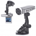 720P HD Wide Angle Vehicle Car Digital DVR Camcorder w/ 5-IR LED Night Vision/SD/HDMI (2.5