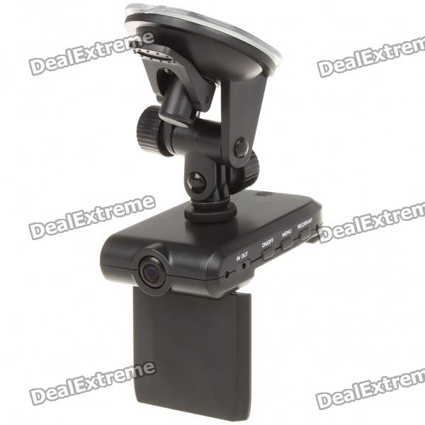 """300KP Wide Angle Car DVR Camcorder w/ AV-Out/SD Slot (2.5"""" TFT LCD)"""