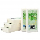 Creative 100 Euro Bill Pattern Napkin Paper - White + Green (Small/5-Pack)