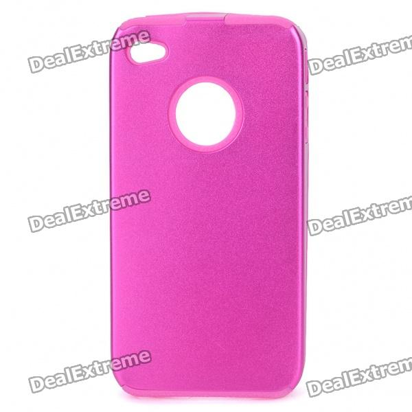 Protective Back Case for Iphone 4 - Deep Pink stylish bubble pattern protective silicone abs back case front frame case for iphone 4 4s