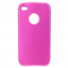 Protective Back Case for iPhone 4 - Deep Pink