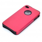 Protective Back Case for Iphone 4 - Red