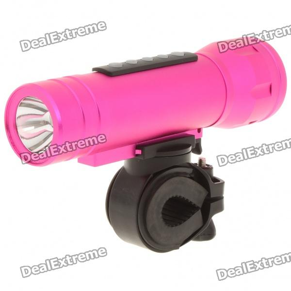 Multifunction 3W 3-Mode LED Flashlight with MP3 Music Speaker Player/TF Slot (2GB)