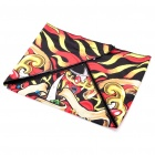 Cool Multi-function Skull Pattern Triangular Scarf Mask - Colorful