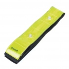 Riding Velcro Leg Pants Band Strap with 2-Mode 4-LED Red Lights (1 x CR2032)