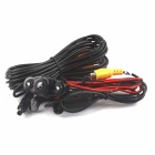 New Frogeye 2-LED Vehicle Car Rear View Camera Video - Black (12V/PAL)