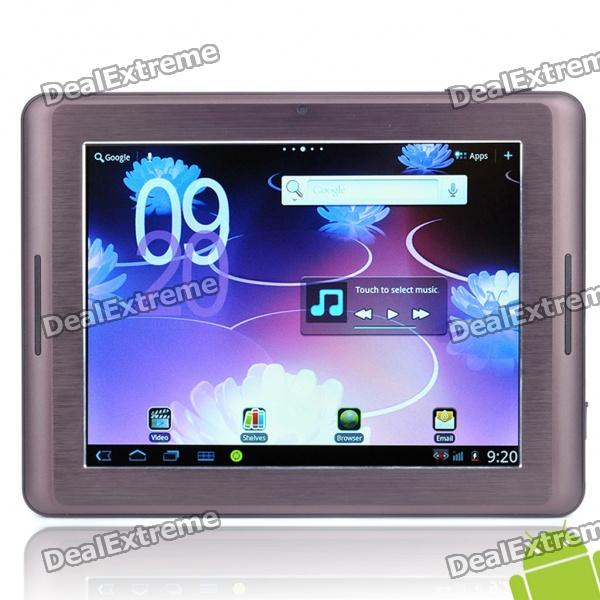 "Echte Hyundai S800 8,0 ""Touch Screen Android 2.3 Tablet PC w / Kamera / HDMI / WiFi / Bluetooth / TF Slot"
