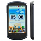 "Huawei U8800+ 3.8"" Capacitive Screen Froyo WCDMA 3G Smart Phone w/ WiFi + A-GPS - Black"