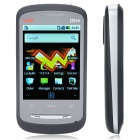 "Genuine ZTE X850 2,8 ""Touch Screen Einzel SIM 3G WCDMA Android 2.1 Smartphone w / WiFi + 2G TF-Karte"