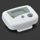 "1.0"" LCD Pedometer with Distance/Calories - White (1xLR1130)"