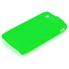 Protective Mesh Style PC Back Case for ZTE V880/U880 - Green