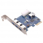 Super Speed ​​USB 3.0 3 +1 Port PCI-E Express Card (5 Gbps)