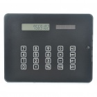Stylish Multi-Function Solar Powered 12-Digits Calculator/Mouse Pad with 4-Port HUB/Blue Backlit