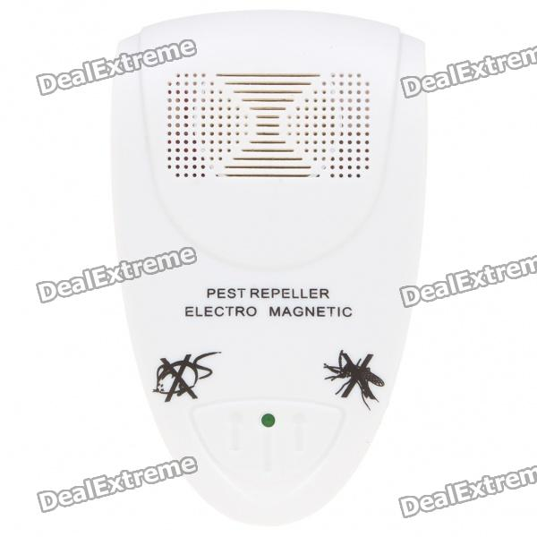 Ultrasonic Pest Repeller - White (AC 100~240V/EU Plug) россия платье s 17 app