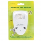 Ultrasonic Pest Repeller - White (AC 100~240V/EU Plug)