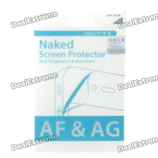Rock Anti-Fingerprint/Anti Glare Screen Protector with Camera Lens Guard for Samsung i9100