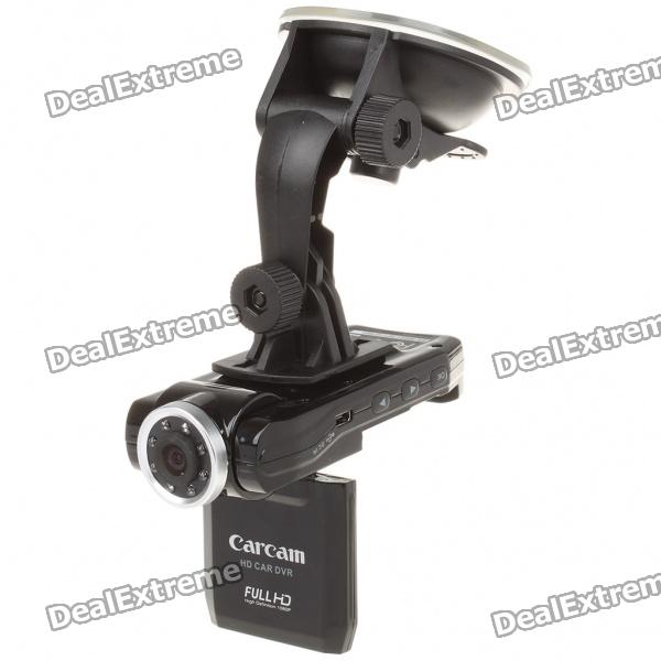 купить 5.0MP Wide Angle Car DVR Camcorder w/ 8-IR LED Night Vision/4X Digital Zoom/HDMI/TF (2.0