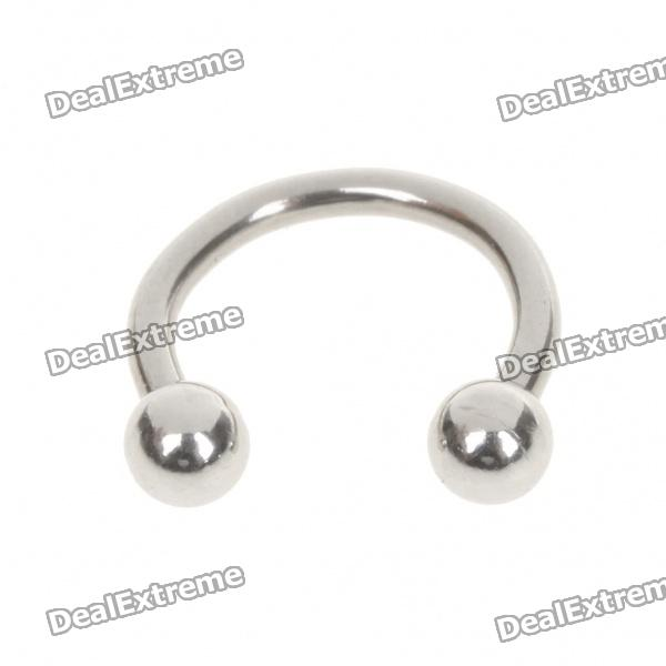 1.2mm 316L Surgical Steel Multifunction Body Piercing Ring - Silver