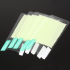 Glossy Protective Screen Protectors/Guards w/ Cleaning Cloth for LG Optimus 2X/P990 (5-Piece Pack)