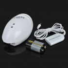 Egg Shaped Water Leak Detector Alarm - White (1*9V)