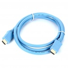 HDMI V1.3 Male to Male Connection Cable - Blue (150cm)