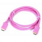 Version 1.3 HDMI-HDMI High Definition Cable - Pink (1.5m Length)