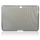 Protective Silicone Case for Samsung P7510/7500 - Translucent Grey