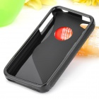 "Protective ""S"" Back Case for Iphone 4/4S - Black"