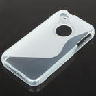 "Protective ""S"" Back Case for Iphone 4/4S - Transparent White"