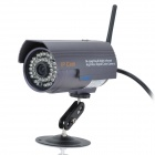 300KP Wireless Wifi/WLAN Network Surveillance IP Camera w/ 36-LED Night Vision - Purple (DC 12V)