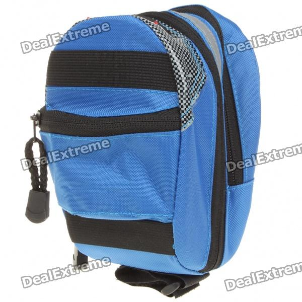 GIANT Cycling Bicycle Bike Saddle Seat Tail Bag - Blue