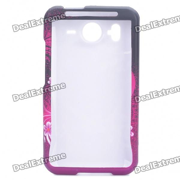 Elegant Protective Case for HTC Desire HD (G10) / HTC Inspire 4G - Hearts
