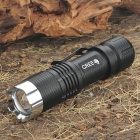 NEW-C55 CREE Q5 3-Mode 170-Lumen Convex Lens LED Flashlight with Clip (1 x 18650)