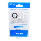 Earbuds with Wired Remote Control for PSP Slim/2000