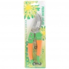 Professional Garden Hand Pruners - Orange + Green
