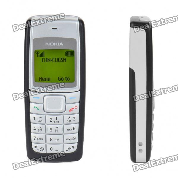 "Refurbished Nokia 1110i 1.4"" Screen GSM Dualband Barphone - Black + White"